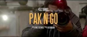 Kizz Daniel – Pak N Go (Teaser)
